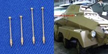 Outline marker 2 x 13,8mm & 2 x 17,9mm  For different military vehicle