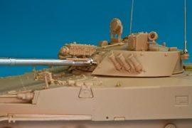 BMP-3 Armament 30mm 2A72, 100mm 2A70, 3 x 7.62 PKT mg