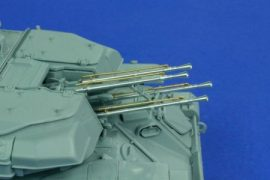 23 mm AZP-23 ZSU-23-4 Shilka 4 pcs - 1/35