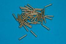 Brass nails/rivets 50 pcs