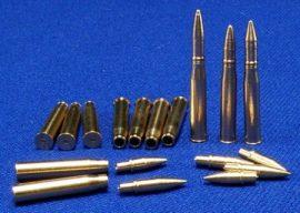 7,5 cm KwK 40, StuK 40 3 x armour-piercing projectile 3 x armour-piercing sabot 3 x high-explosive projectile 12 x shels PzKpfw IV (F2, G, H, J), StuG (F, F2, G)
