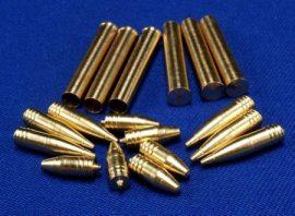 """12.8cm PaK 40 L/61 6 x armour-piercing projectile 6 x high-explosive projectile 6 x shels """"Sturer Emil"""" - 1/35"""