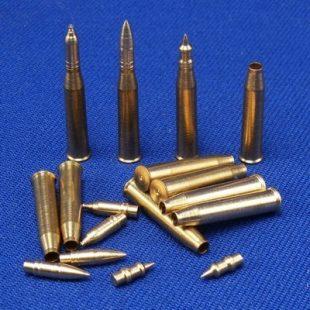 1/35 ammo - Harcjármű - RB Model lövegcsövek (Barrels) - Fém