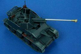7.62cm PaK36(r) mid model Sd.Kfz.139 Marder III - 1/48