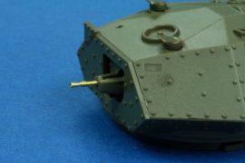 7,92mm BESA (2 piece) Machine gun used in many British Tanks