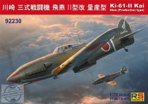 Ki-61 II Kai with bubble canopy - 1/72