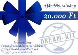 Ajándékutalvány - 20.000,-Ft