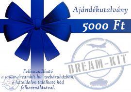 Ajándékutalvány - 5.000,-Ft