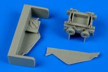 US NAVY torpedo loading cart