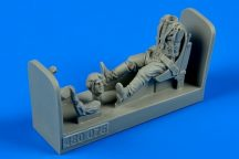 Russian WWII pilot with seat for P-39 Airacobra