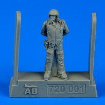 Soviet air force fighter pilot