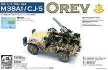 """IDF 1/4 ton 4x4 anti-tank M38A1/CJ-5 """"Orev"""" - 1/35"""