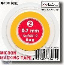 Micron Masking Tape 0.7mm x 8m