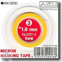 Micron Masking Tape 1.0mm x 5m