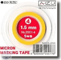 Micron Masking Tape 1.5mm x 5m