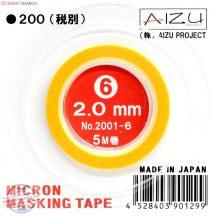 Micron Masking Tape 2mm x 5m