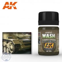 Weathering products - WASH FOR DARK YELLOW VEHICLES