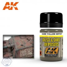 Weathering products - SAND YELLOW DEPOSIT