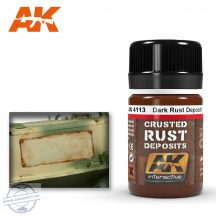 Weathering products - DARK RUST DEPOSIT