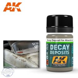 Weathering products - DECAY DEPOSIT FOR ABANDONED VEHICLES