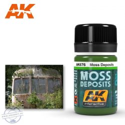 Weathering products - MOSS DEPOSIT