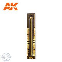 Rézcső szet - BRASS PIPES 2,2mm, 2 db