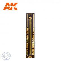 Rézcső szet - BRASS PIPES 3,0mm, 2 db