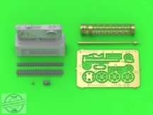 German WW I machine gun Spandau LMG 08 (1pc) - with cooling jacket ver.3
