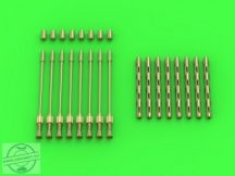 Avro Lancaster - set of 8 British Brownings .303 cal (for HK Models) - 1/32