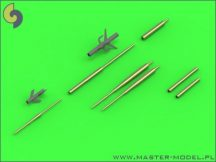 Su-17, Su-20, Su-22 (Fitter) - Pitot Tubes (optional parts for all versions) and 30mm gun barrels