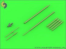 Su-9 / Su-11 (Fishpot / Fishpot C) - Pitot Tubes and missile rails heads