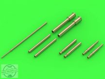 Fw 190 A2 - A5 armament set (MG 17, MG FF, MG 151 barrel tips) & Pitot Tube (for Eduard kit)