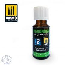 Debonder - Pillanatragasztó eltávolító, 20 ml
