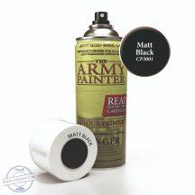 Base Primer Matt Black - Matt fekete alapozó spray, 400 ml.