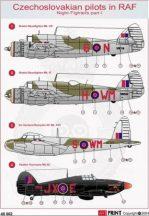 Night Fighters Pt.1 - Czechoslovakian pilot in RAF 1/72