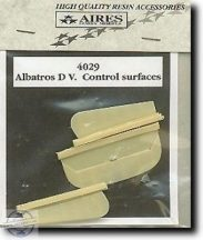 Albatros DV. - control surfaces - 1/48 -  Eduard