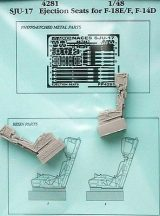 SJU-17 eject. seats for F-18E/F, F-14D - 1/48 - Hasegawa