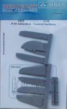 P-39 control surfaces -  1/48 - Eduard