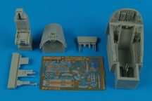 A-7E Corsair II cockpit set (early v.) - 1/48 - Hobbyboss