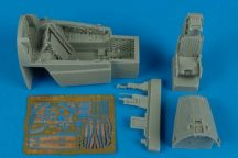 A-7E Corsiar II late v. cockpit set - 1/48 - Hobbyboss