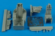 F-16C Barak block 40 cockpit set - 1/48 - Kinetic