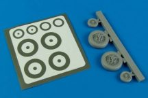 F-100 Super Sabre wheels & paint masks - 1/48 - Monogram/ Trumpeter