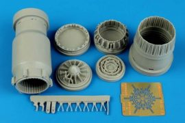 MiG-23 Flogger exhaust nozzle - opened - 1/48 - Trumpeter