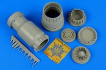 MiG-23 Flogger exhaust nozzle - closed - 1/48 - Trumpeter