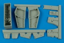 F-4C/D Phantom II wheel bay with covers - 1/48 - Academy
