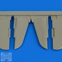 Yak-3 control surfaces