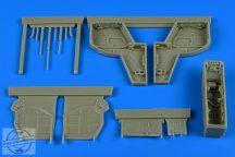 IAI Kfir C2/C7 wheel bay - 1/48 - AMK