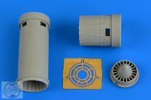 IAI Kfir C2/C7 exhaust nozzzle