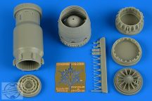 MiG-23BN late exhaust nozzle - opened - 1/48- Trumpeter