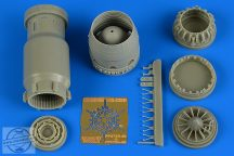 MiG-23BN late exhaust nozzle - closed - 1/48- Trumpeter